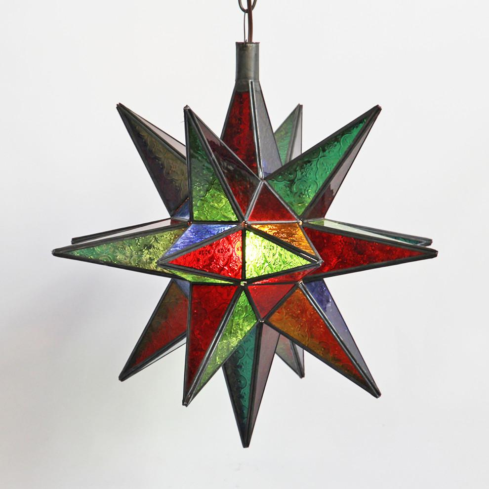 Moroccan star lamp image 2 of 3