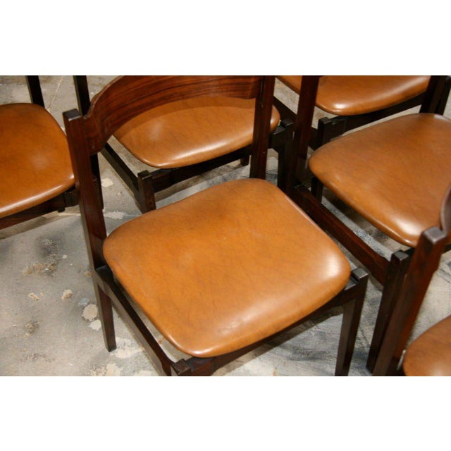 Six Gianfranco Frattini Chairs For Sale - Image 9 of 11