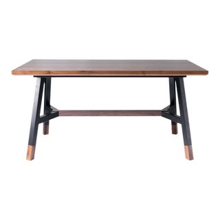 A-Frame Dining Table - Black For Sale