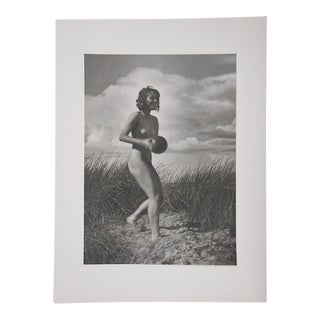 Vintage Ltd. Ed. Silver Gelatin Photographs-Female Nudes-1938-Folio Size