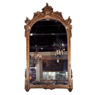 Italian Palatial Size Mirror For Sale
