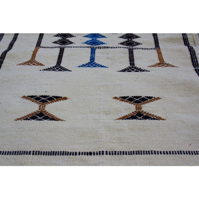 Moroccan Berber Silk Rug - 3'3'' X 1'9'' - Image 4 of 4