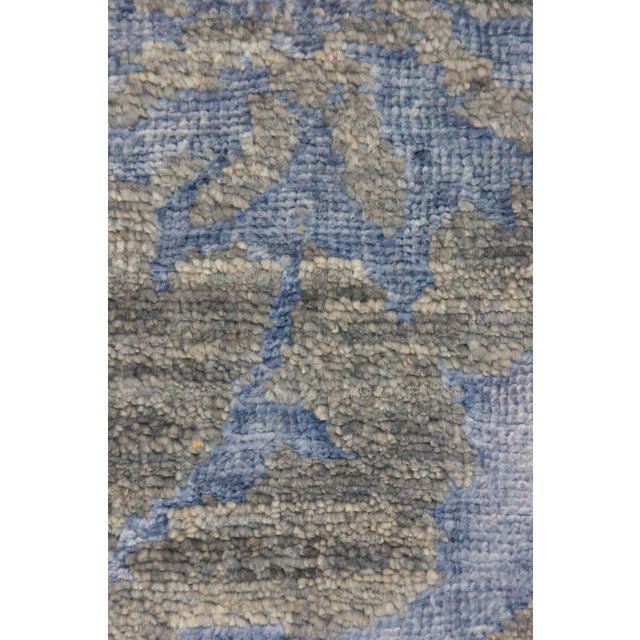 "Contemporary Hand Knotted Area Rug -- 4' X 6'5"" - Image 3 of 3"