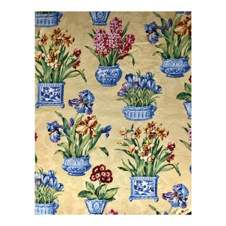 Kingsway Melanie Chinoiserie Chintz Fabric - 3.7 Yards