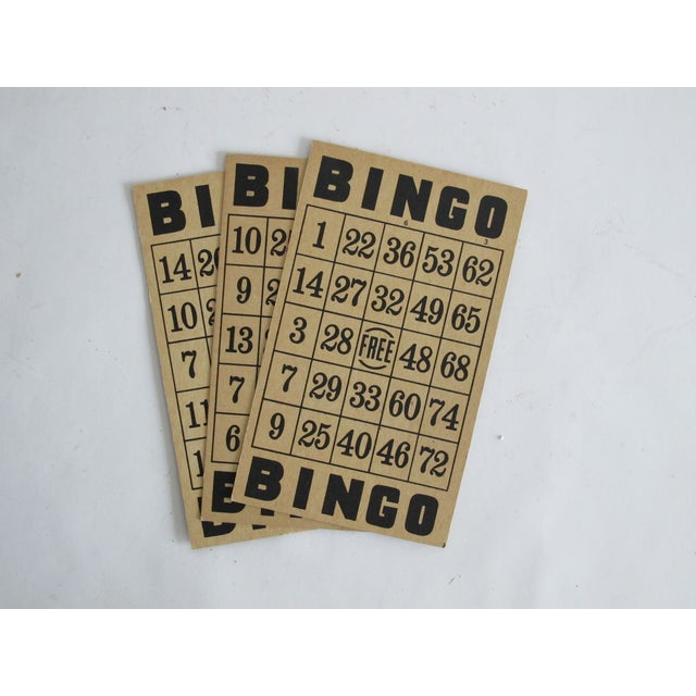 Vintage Bingo Cards - Set of 3 - Image 2 of 3