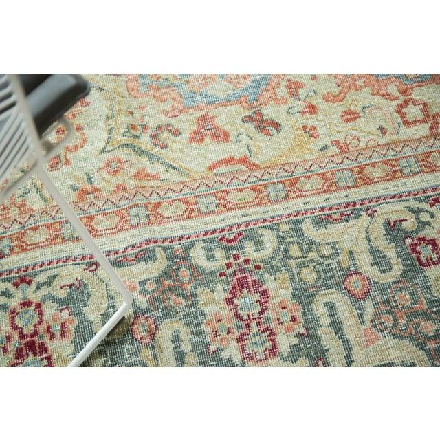 "Textile Vintage Distressed Arak Carpet - 10' x 13'3"" For Sale - Image 7 of 10"