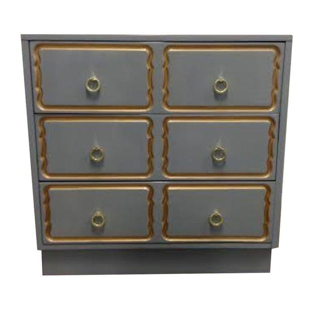 Dorothy Draper Style Chest of Drawers For Sale In New York - Image 6 of 6