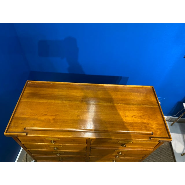 French Oak Apothecary Cabinet For Sale In New York - Image 6 of 13