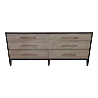 Alder Wood 6-Drawer Dresser For Sale