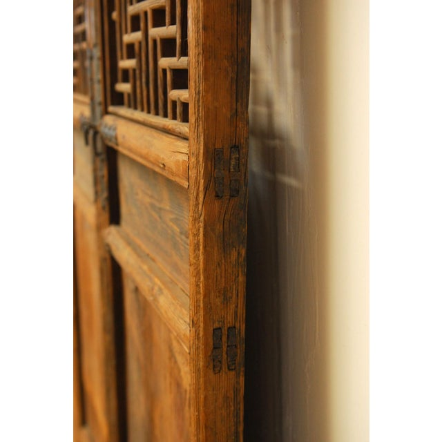 Chinese Lattice Panel Doors - Set of 4 For Sale - Image 5 of 10