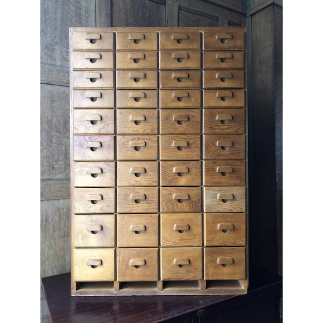 Antique Multi Drawer Cabinet For Sale - Image 11 of 11