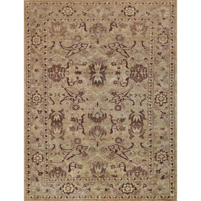 Mansour Quality Agra Rug - 6′ × 7′10″ For Sale In Los Angeles - Image 6 of 6