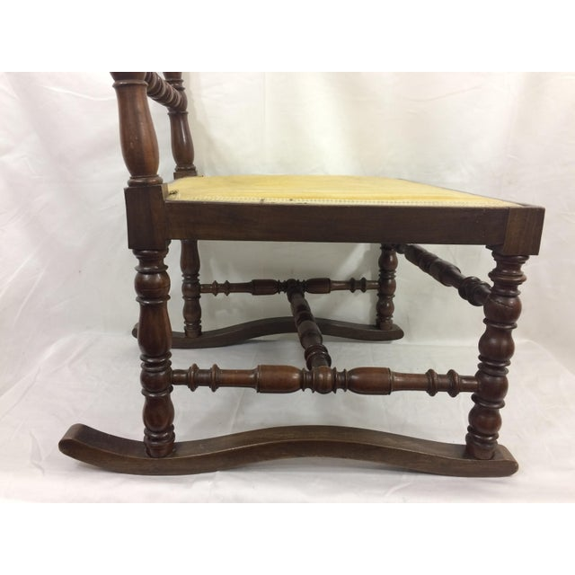 Napoleon III High Back Spindle Chair For Sale - Image 4 of 8