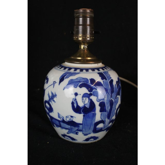 Vintage Chinese Ginger Jar Lamp For Sale In New York - Image 6 of 6