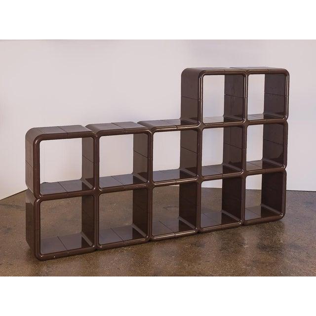 Kay Leroy Ruggles Brown Umbo Modular Shelf Unit for Directional For Sale - Image 10 of 10