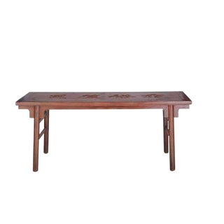 20th Century Chinese Calligraphy Writing Table For Sale