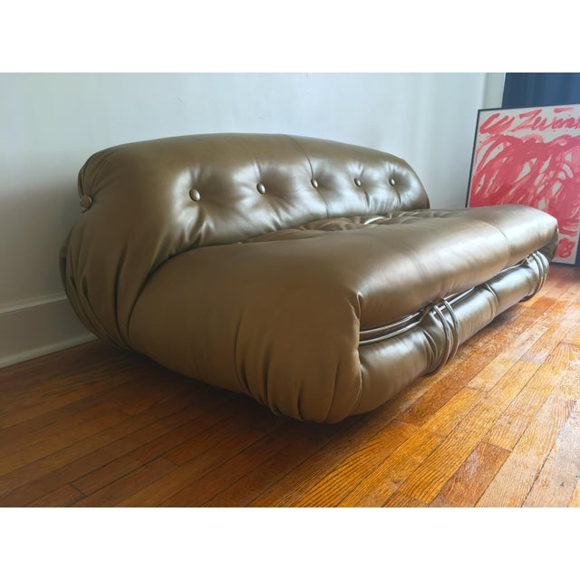 1970s 1970s Soriana Sofa by Afra & Tobia Scarpa for Cassina For Sale - Image 5 of 13
