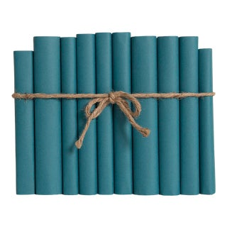Late 20th Century Turquoise Wrapped Colorpak For Sale