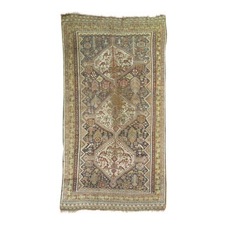 Tribal Shabby Chic Rug - 4'11'' x 9'3'' For Sale