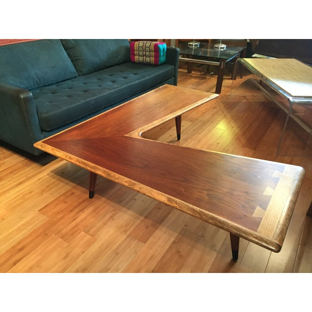 Mid-Century Modern Lane Acclaim Boomerang Coffee Table For Sale - Image 3 of 11