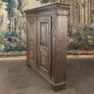 Antique Country French Walnut Armoire ~ Very Shallow! Preview