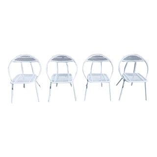 1960's Salterini Designed Rid-Jid Folding Hoop Chairs-Set of 4 For Sale
