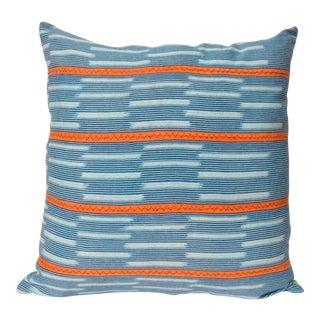 "African Baule Stripe Pillow - 20"" x 20"""