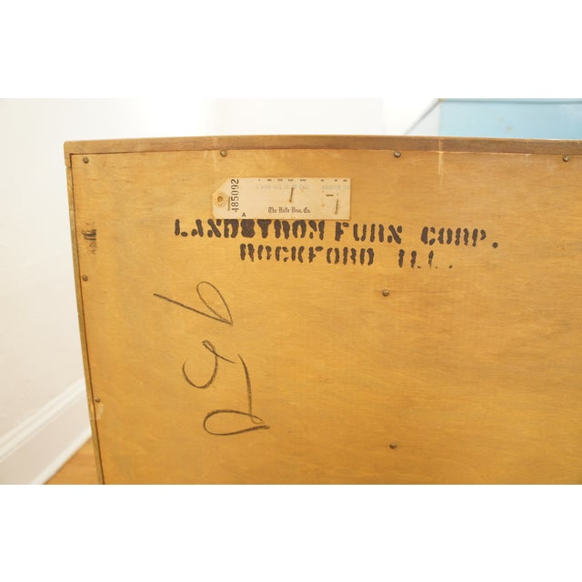 1950s Landstrom Chinoiserie Dresser For Sale - Image 7 of 8