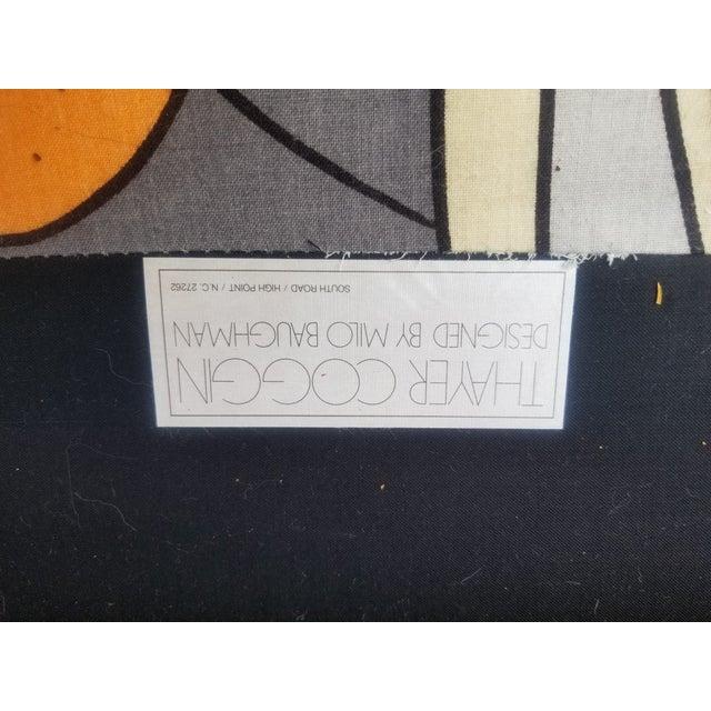 1960s Vintage Milo Baughman Art Nouveau Tub Loveseat For Sale - Image 10 of 12