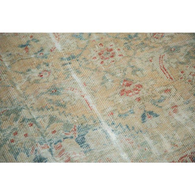 """Islamic Distressed Antique Sultanabad Carpet - 9' X 12'5"""" For Sale - Image 3 of 10"""
