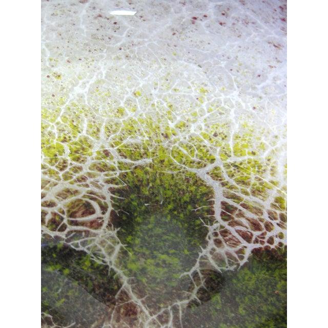 Blown Glass Serving Platter - Image 5 of 7