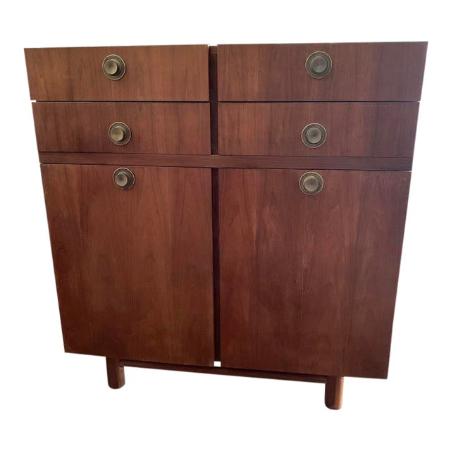 Mid Century Modern American of Martinsville Highboy For Sale