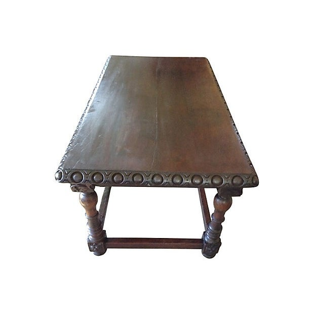 European Scalloped Top Table - Image 5 of 9