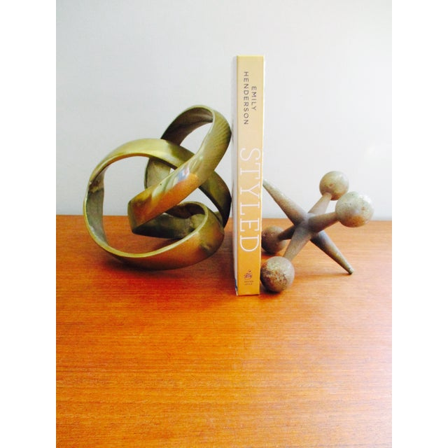 Modernist Abstract Free Form Sculpture or Bookend - Image 8 of 10
