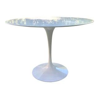 Knolls Carrara Original Marble Top Tulip Table