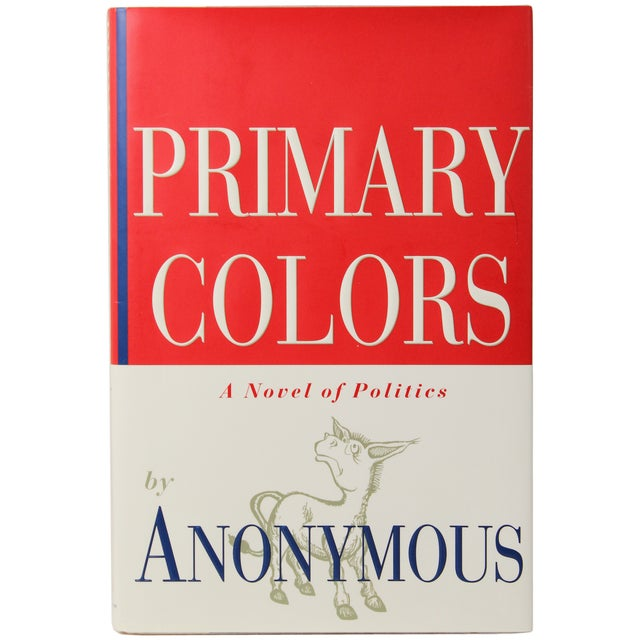 Primary Colors - First Edition Book | Chairish