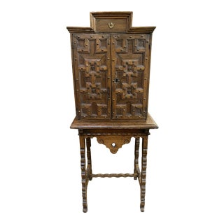 17th Century Spanish Cabinet For Sale