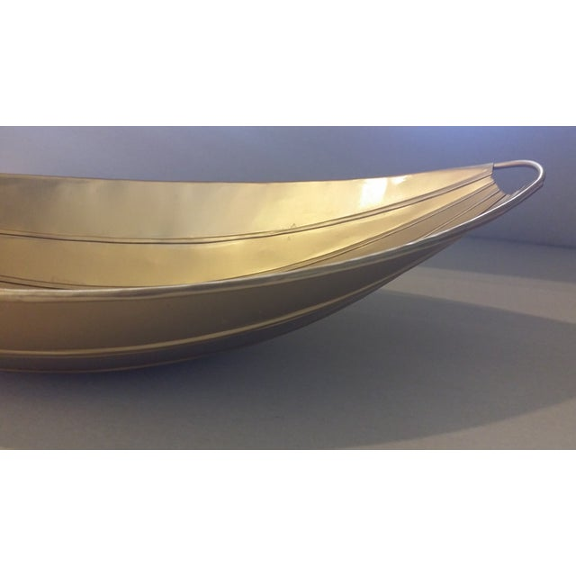 Decorative Gold Bowl - Image 4 of 5