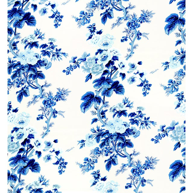 This chintz pattern was famously used by designer Albert Hadley for his client Nancy Pyne. It's one of our most sought-...