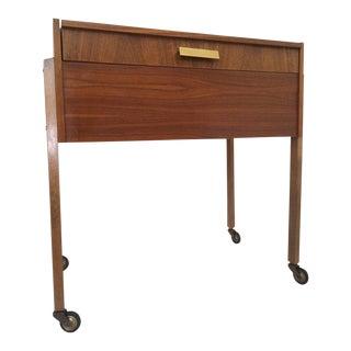 Mid-Century Modern Danish Sewing Box For Sale
