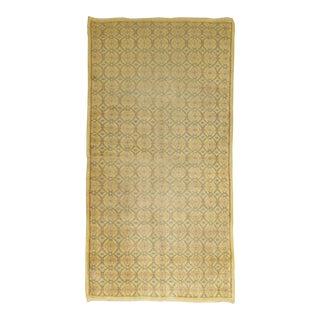 Yellow Turkish Deco Rug - 3' x 6'9''