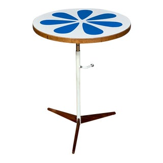 1960s Mid-Century Modern Howard McNab & Don Savage Lotus Side Table For Sale