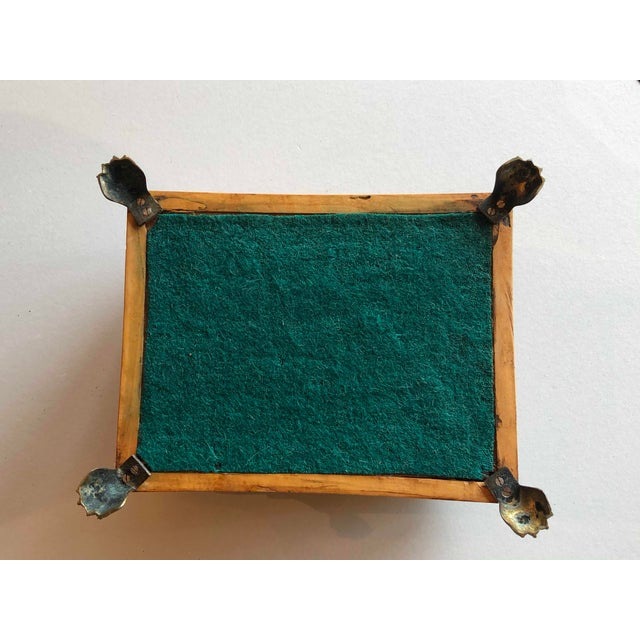 Regency Burr Yew Table Box For Sale - Image 10 of 12