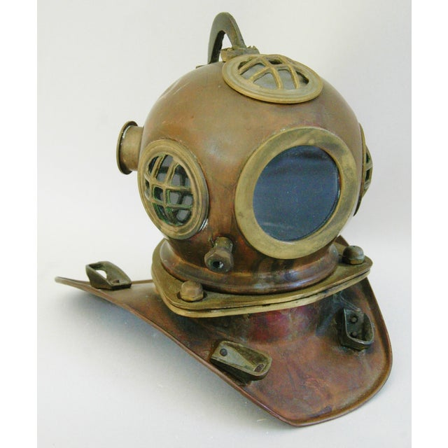 1960's Nautical Brass Diving Helmet - Image 2 of 9