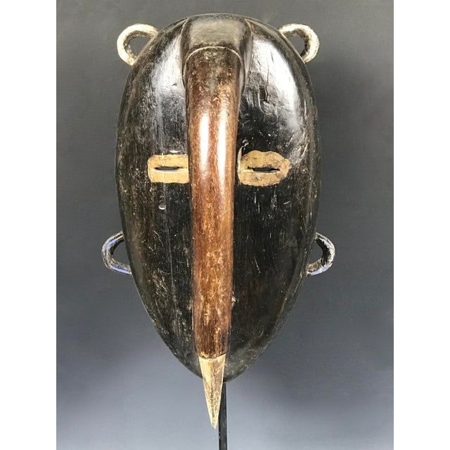 African African Tribal Art Kulango Mask From Ivory Coast For Sale - Image 3 of 11