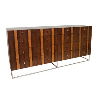 10 Drawer Rosewood Sideboard For Sale