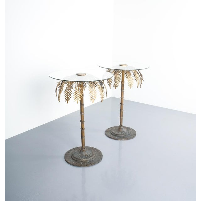 Mid-Century Modern Iron Centre or Side Tables Style Maison Charles, Circa 1955 For Sale - Image 3 of 11