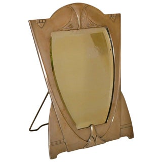 Wmf Art Nouveau M Easel Mirror For Sale