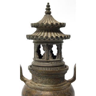 Ming Style Bronze Incense Burner, Chinese Temple Censer Model Preview
