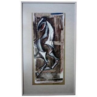 Emanuel Glicenstein Romano Collage For Sale